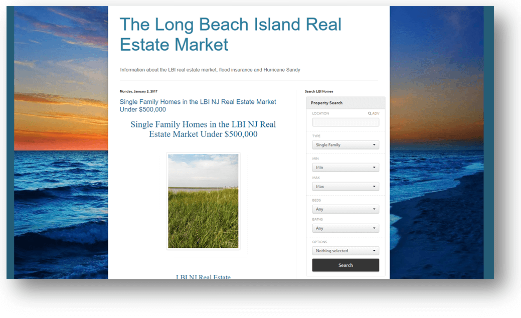 Nathan Colmer Real Estate Websites | LBI NJ Real Estate